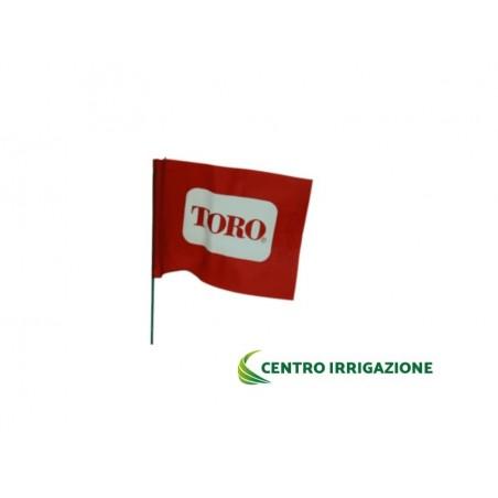 Bandiera 12x20cm. H=90cm