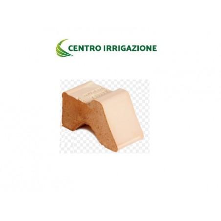 Piedino Terracotta 8x4 X H.4 Degrea Piede