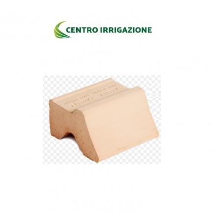 Piedino Terracotta 8x8 X H.4 Degrea Piede