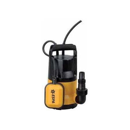 Pompa Drenaggio Kona400p -prof.max 7mt -solidi 5mm Pozzetto Cantina Garage Acqua Scantinato