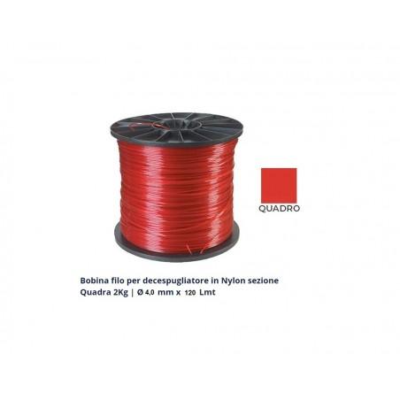 Bob.filo D.3 Quadro Rosso 2kg -215mt