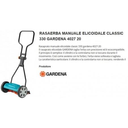 Rasaprato A Mano Elicoidale Classic -33cm