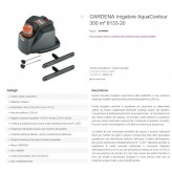 IRRIGATORE X GIARDINO - 50POSIZIONI - 2AREE MEMO