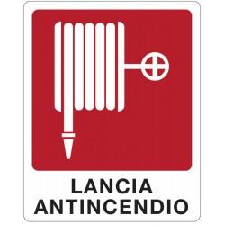 CART. INDIC.LANCIA ANTINCENDIO 25X31 CM