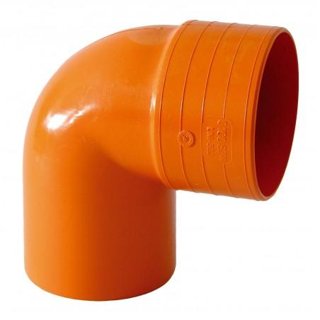 Curva 90° M/f Arancio
