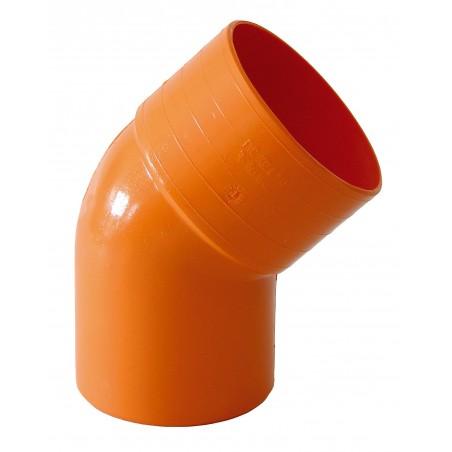 Curva 45° M/f Arancio
