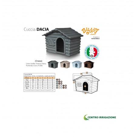 Cuccia Dacia Media Crusca (tortora)