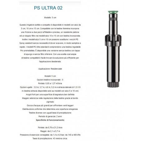 POP-UP 5CM - G.4,5M CORPO